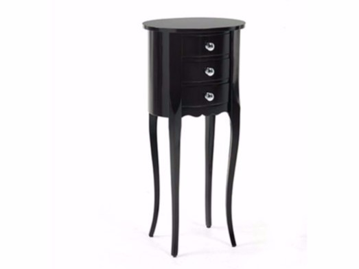 Lacquered high side table for living room ALTON - Gianfranco Ferré Home