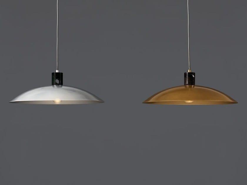 Direct light powder coated aluminium pendant lamp ALUSTASS 1486 - Racó Ambient