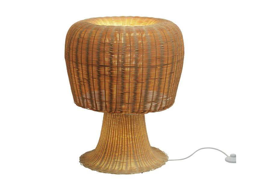 Rattan table lamp AMANITA - ALESSI