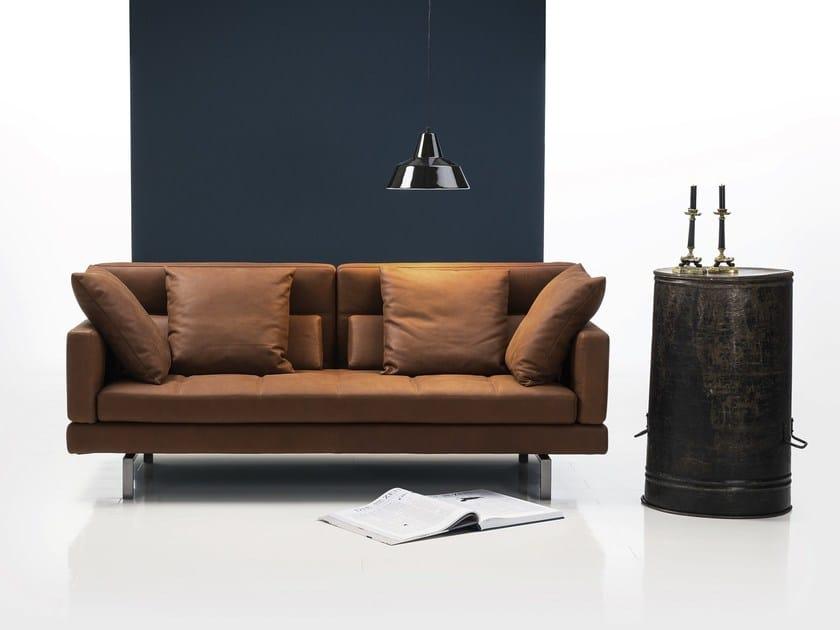 amber divano in pelle by br hl sippold design roland meyer br hl. Black Bedroom Furniture Sets. Home Design Ideas