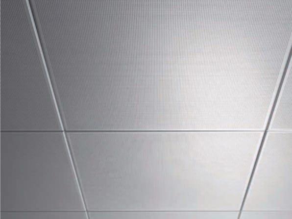 Acoustic metal ceiling tiles AMF MONDENA® - System A - Knauf AMF Italia Controsoffitti