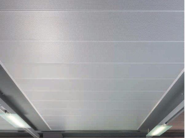 Pannelli per controsoffitto in metallo AMF MONDENA® - Sistema F - Knauf AMF Italia Controsoffitti