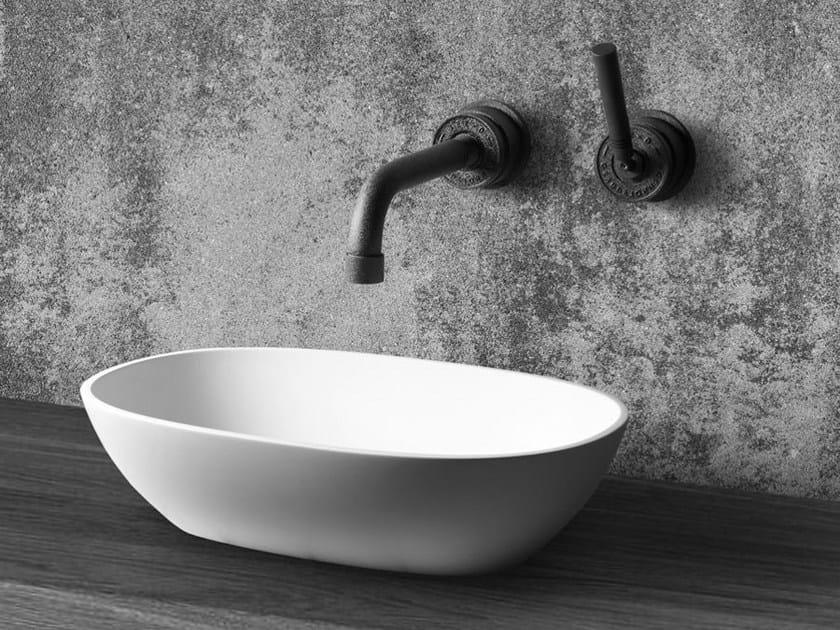 Countertop oval washbasin AMSTERDAM - JEE-O