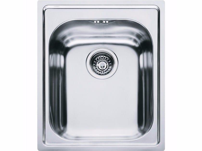 Lavello a una vasca da incasso in acciaio inox AMX 610 - FRANKE