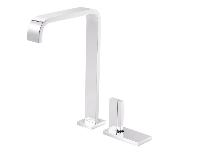 2 hole countertop kitchen mixer tap ANDREW | 2 hole kitchen mixer tap by rvb