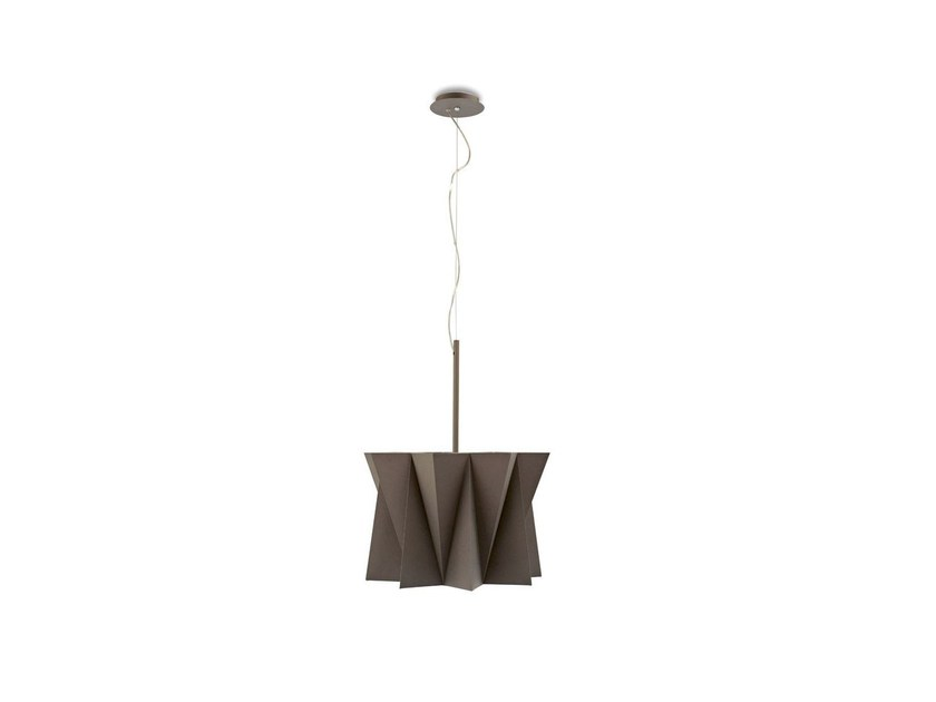 Adjustable fabric chandelier ANDROMEDA | Pendant lamp by Calligaris