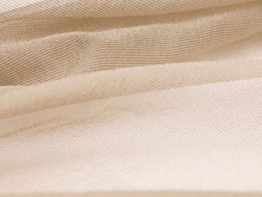 Solid-color polyester fabric for curtains ANETO by Gancedo