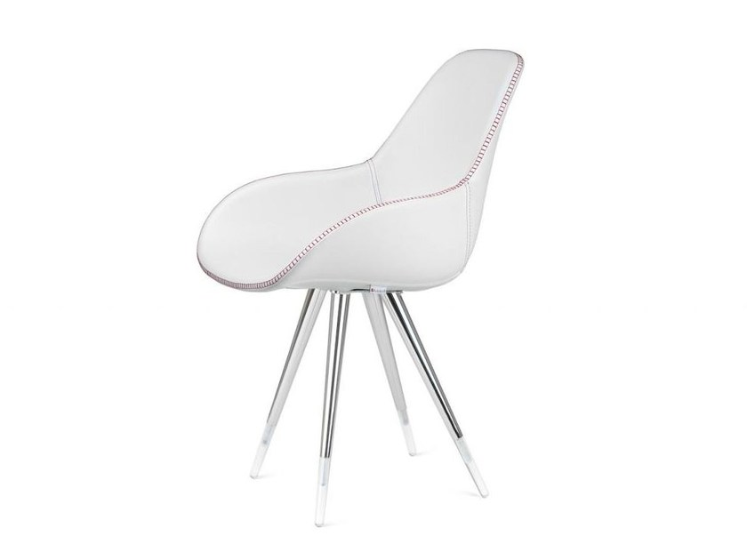 Upholstered chair ANGEL DIMPLE TAILORED - KUBIKOFF