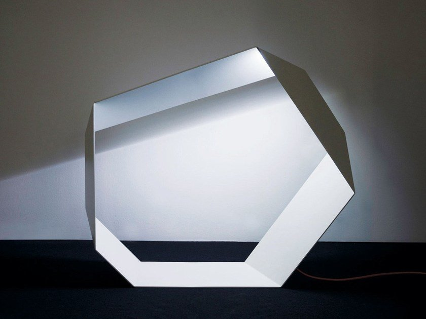 LED aluminium floor lamp with dimmer ANGOLO | LED floor lamp by Sattler