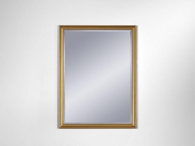 Wall-mounted framed rectangular mirror ANKARA SMALL - DEKNUDT MIRRORS