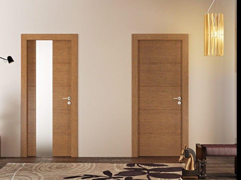 Hinged wooden door ANTEA - Pail Serramenti
