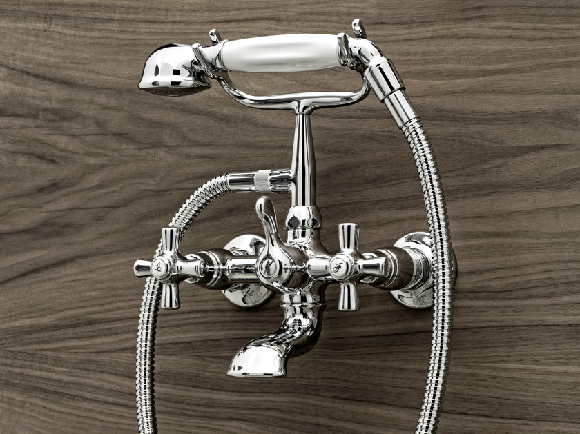 Bathtub tap with hand shower ANTICA | Bathtub tap - Signorini Rubinetterie