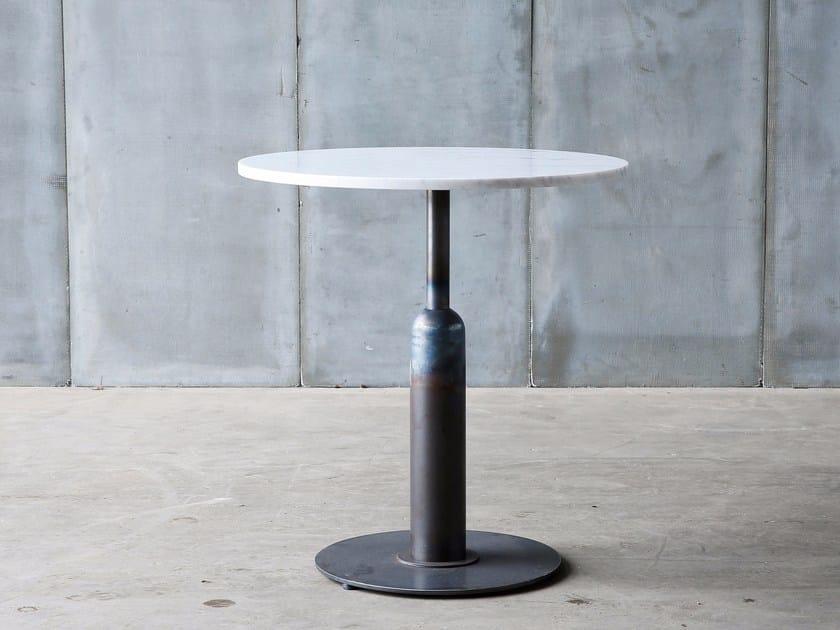 Round marble table APOLLO MTM | Marble table - Heerenhuis