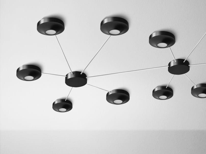 LED ceiling lamp AQLED SPIDER surface G/K - Aquaform
