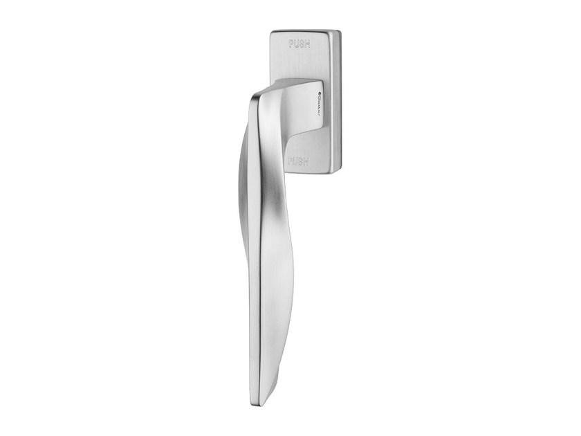 Contemporary style anti-intrusion DK brass window handle AQUA | Anti-intrusion window handle - LINEA CALI'