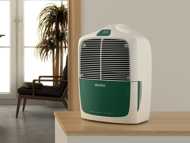 Home dehumidifier AQUARIA 16 THERMO by OLIMPIA SPLENDID