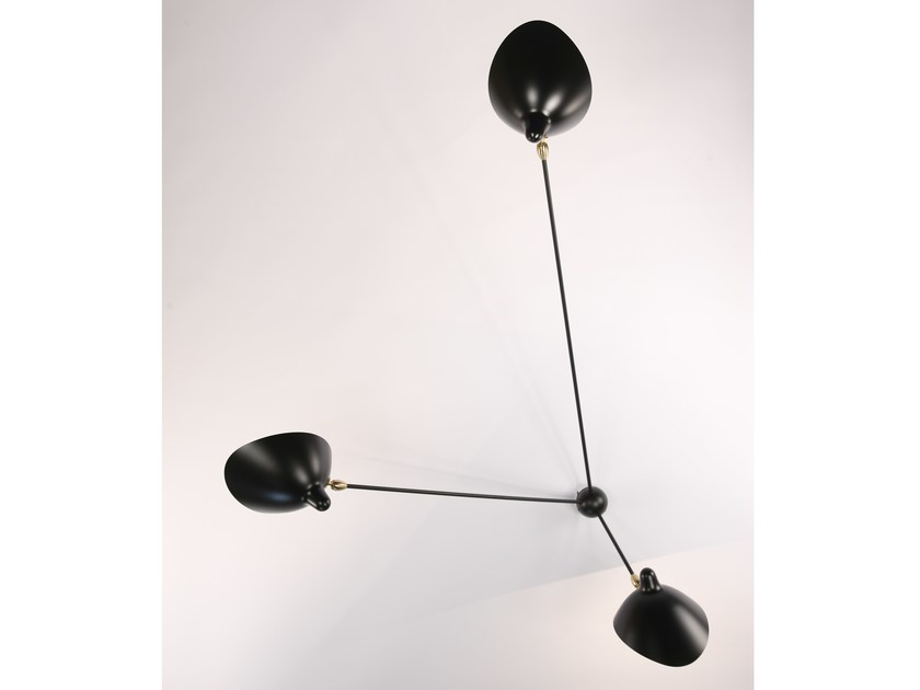 Metal wall lamp AR3B | Wall lamp by Serge Mouille