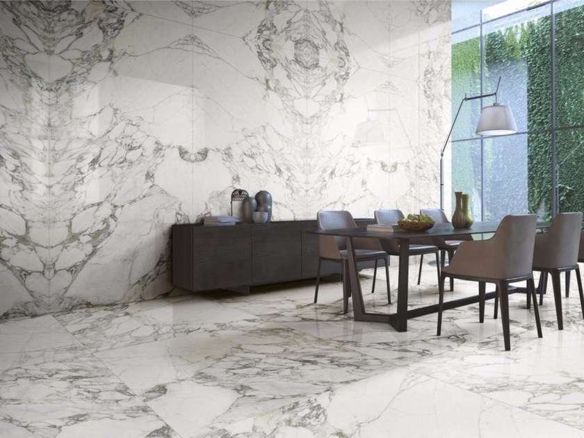 Porcelain stoneware wall/floor tiles with marble effect ARABESCATO | Wall/floor tiles - FMG Fabbrica Marmi e Graniti