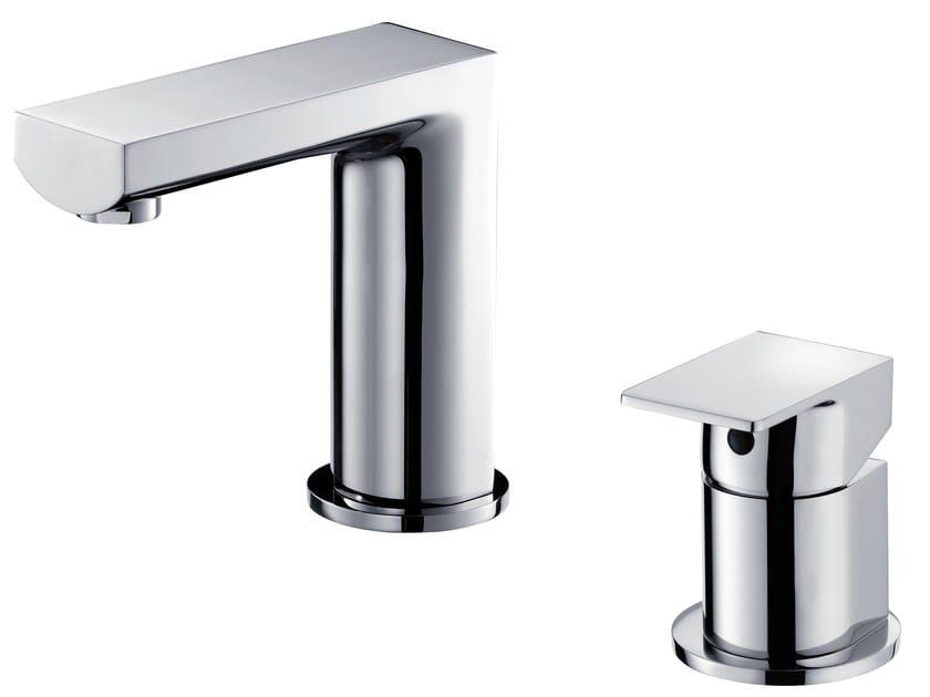 2 hole countertop single handle washbasin tap ARCH | 2 hole washbasin tap - JUSTIME