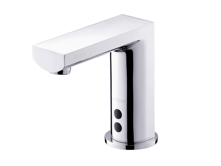 Countertop electronic 1 hole washbasin tap ARCH | Electronic washbasin tap - JUSTIME