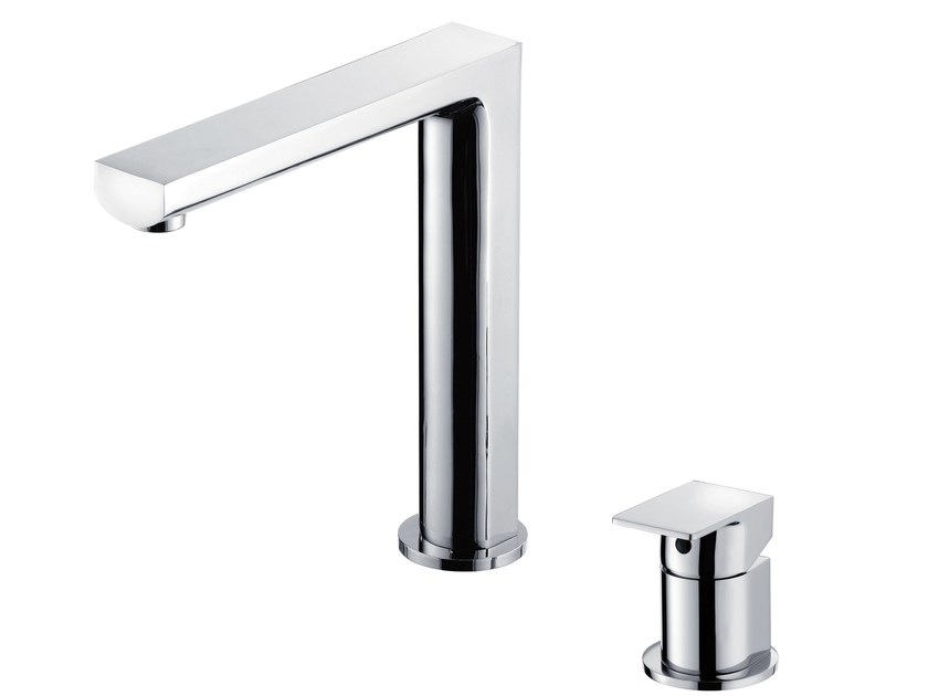 2 hole countertop single handle kitchen mixer tap ARCH | Kitchen mixer tap by JUSTIME