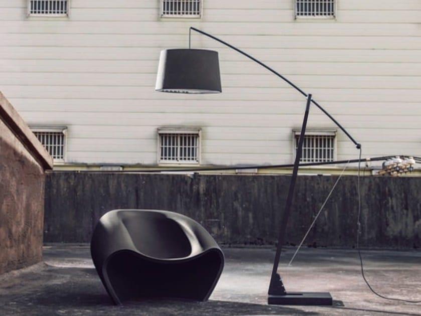Adjustable arc lamp ARCHER by Aromas del Campo