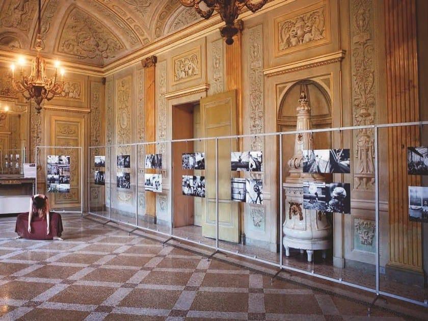 Modular display unit ARCHIMEDE DISPLAY by Caimi Brevetti
