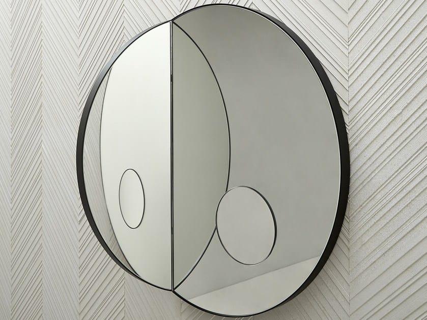 Round wall-mounted mirror ARCHIMEDE | Round mirror by SALVATORI