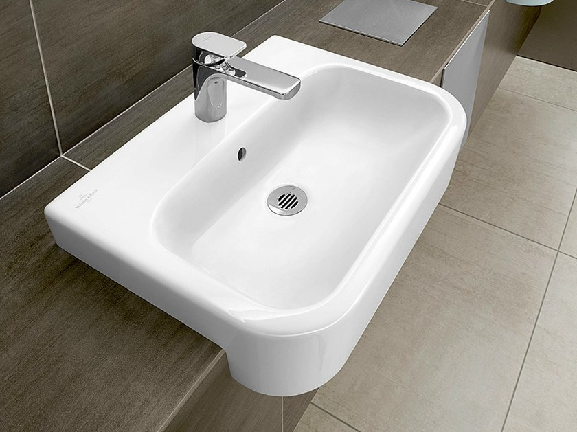 Ceramic washbasin ARCHITECTURA | Ceramic washbasin - Villeroy & Boch