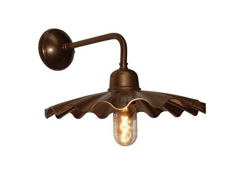 Direct light handmade wall lamp ARDLE B INDUSTRIAL WALL LIGHT - Mullan Lighting