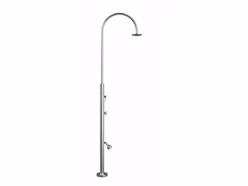 Stainless steel outdoor shower ARIA CYLINDER ML - Inoxstyle