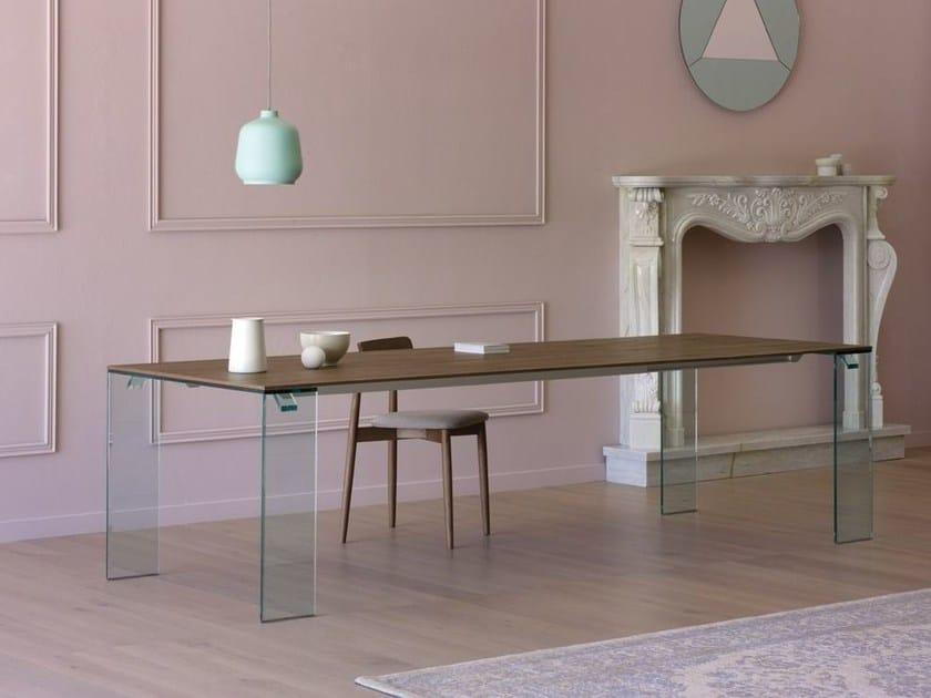 Extending rectangular table ARIA - Miniforms