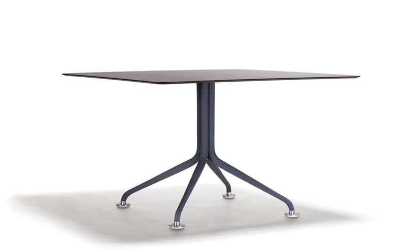 Square garden table ARIA | Square table - Potocco