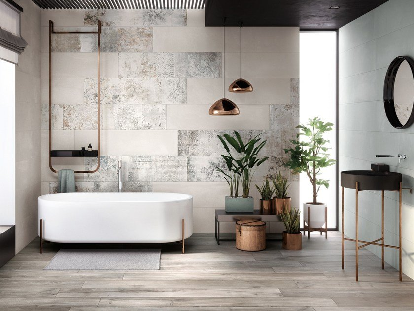 Wall&Porcelain™ wall tiles CREA by Ariana Ceramica