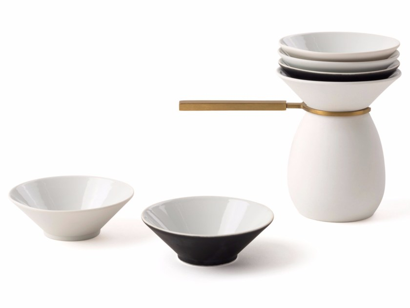 Ceramic serving bowl ARITA LIQUID by STELLAR WORKS