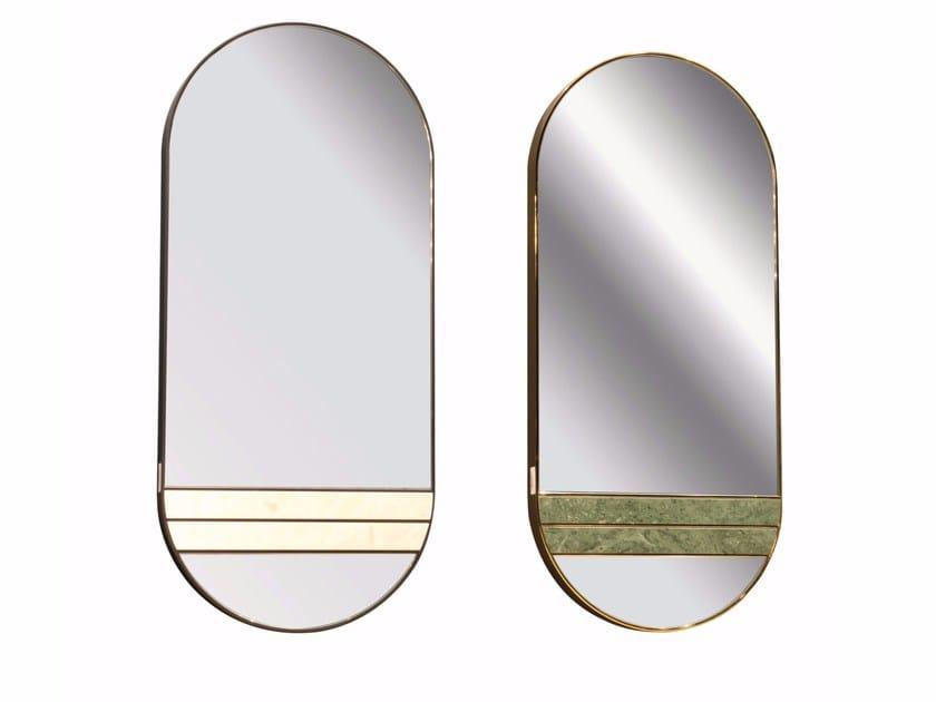 Oval wall-mounted mirror ARKANGE by ROCHE BOBOIS