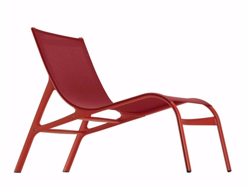Mesh lounge chair ARMFRAME COLORS - 418_C - Alias