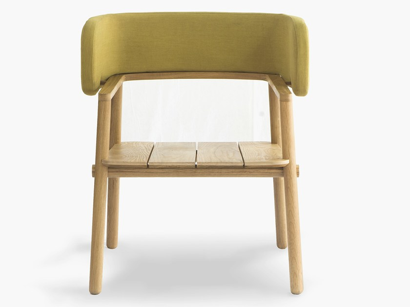 Oak chair with armrests ARMS CHAIR - Specimen Editions