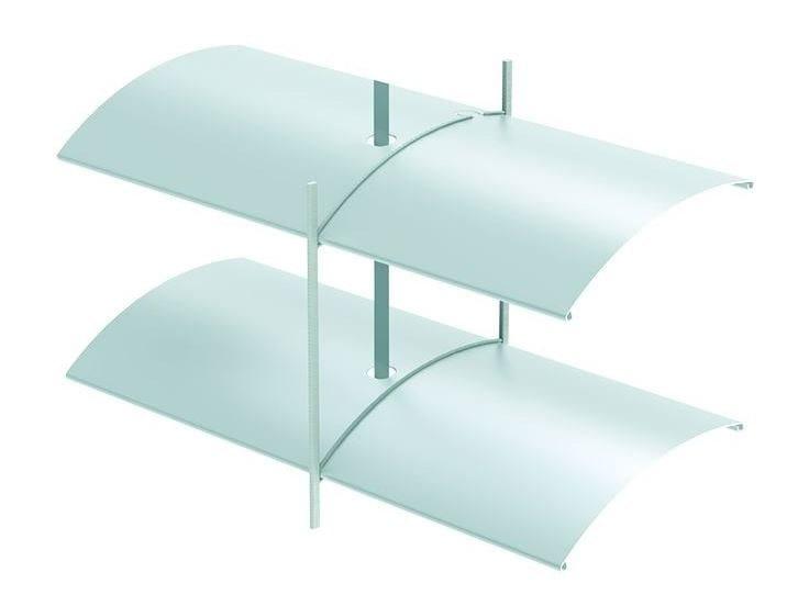 Sliding aluminium solar shading ARO 80 | Solar shading by HELLA
