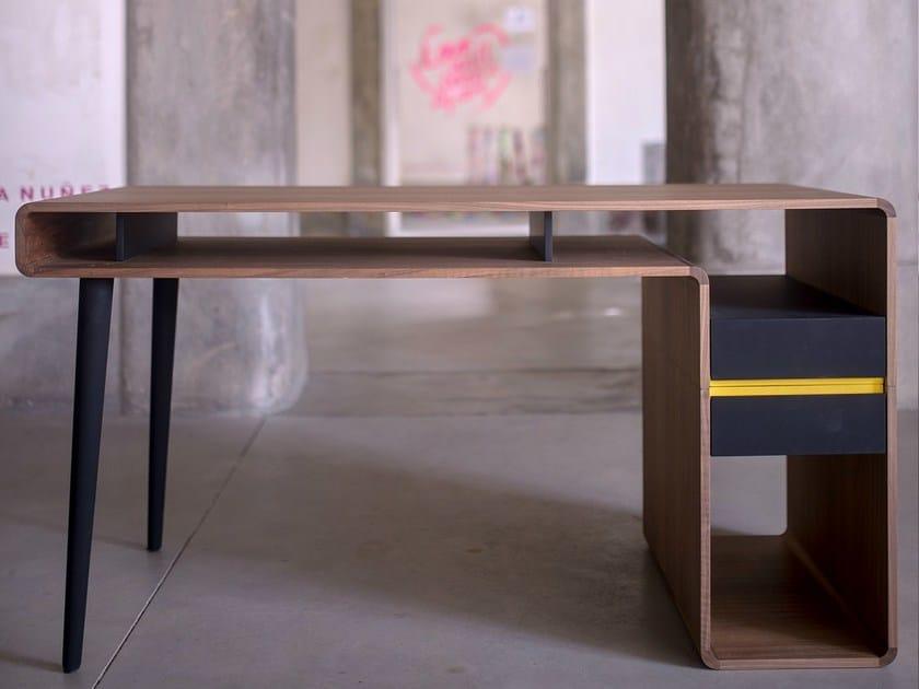Rectangular writing desk with drawers AROUND.U | Writing desk by Two Six