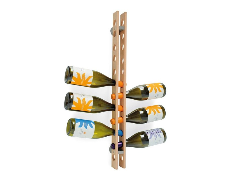 Beech bottle rack ARSENAL - Calligaris