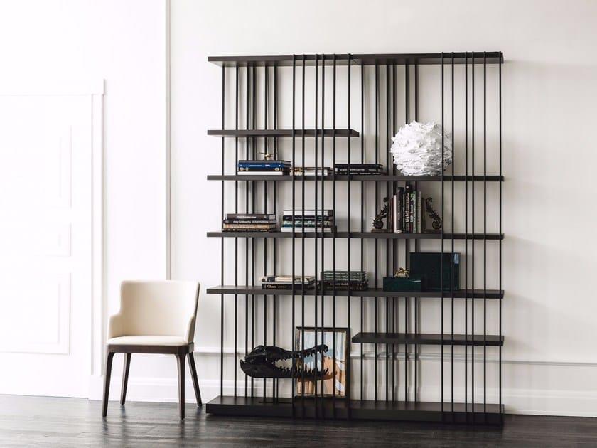 Libreria modulare in acciaio ARSENAL by Cattelan Italia