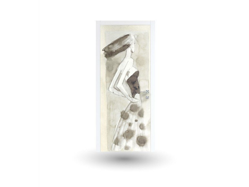 Hinged lacquered door ART 104A by GD DORIGO