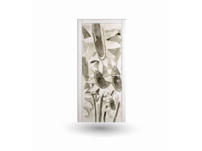 Hinged lacquered door ART 113A by GD DORIGO