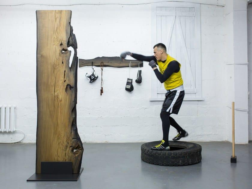 Wooden sculpture ART OBJECT #4 by EDWOOD