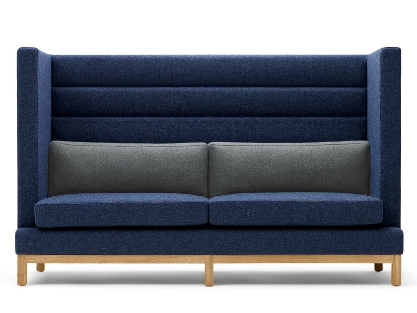 Upholstered 3 seater high-back sofa ARTHUR | 3 seater sofa - Boss Design