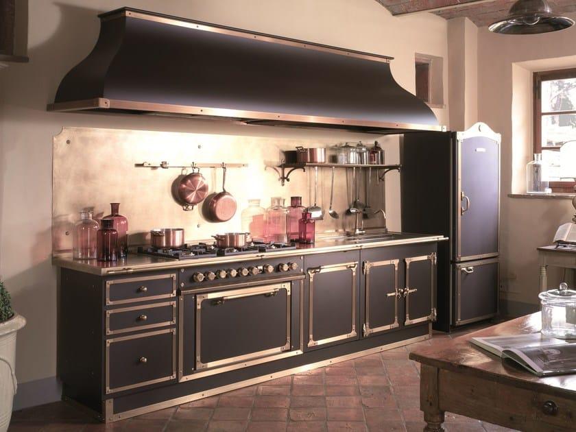 Cucine Officine Gullo : Cucina lineare su misura artimino palace officine gullo