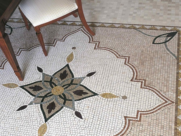 Marble mosaic ARTISTIC CLASSIC - KASHAN by Lithos Mosaico Italia