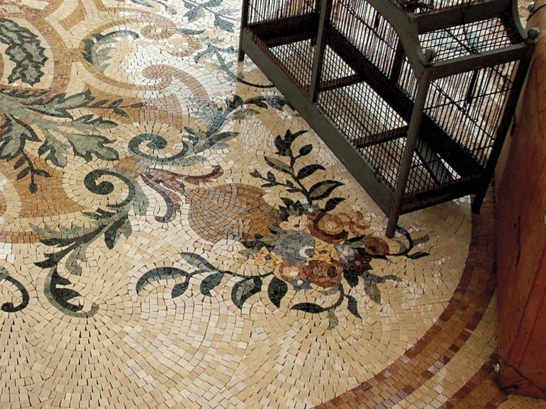 Marble mosaic ARTISTIC CLASSIC - LE HAVRE - Lithos Mosaico Italia - Lithos