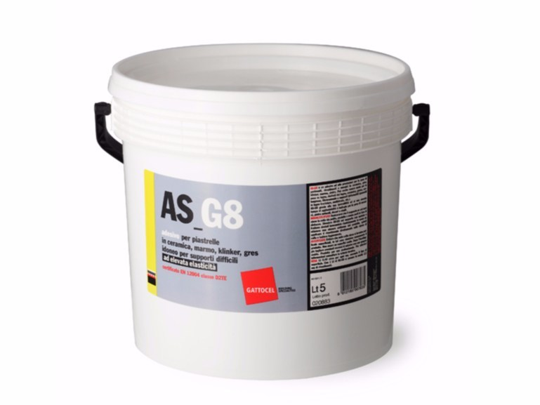 Tile adhesive AS_G8 by Gattocel Italia